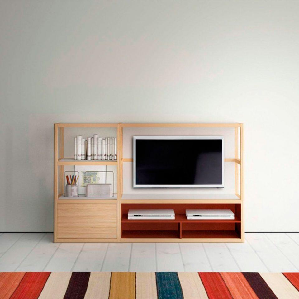 donde poner la tv muebles modernos minimalistas treku