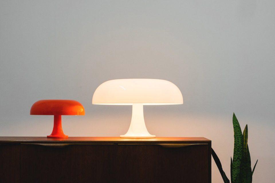 lámpara nesso Artemide años 60