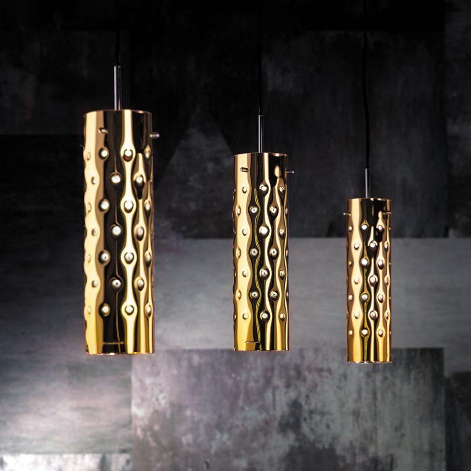 lámparas en suspensión para el salón