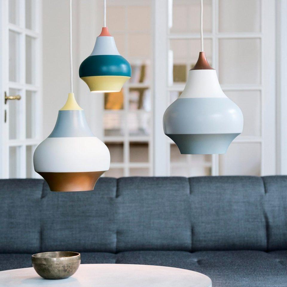 muebles de comedor en suspensión lámparas