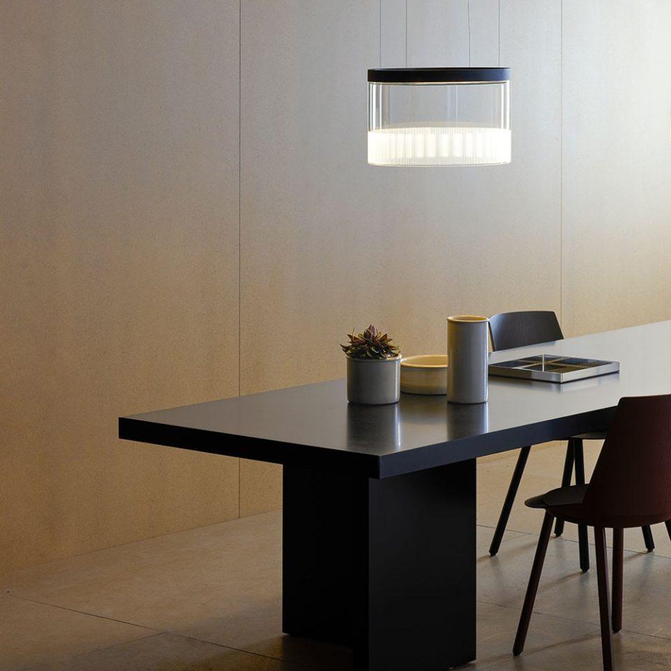 lámparas en suspensión para el comedor