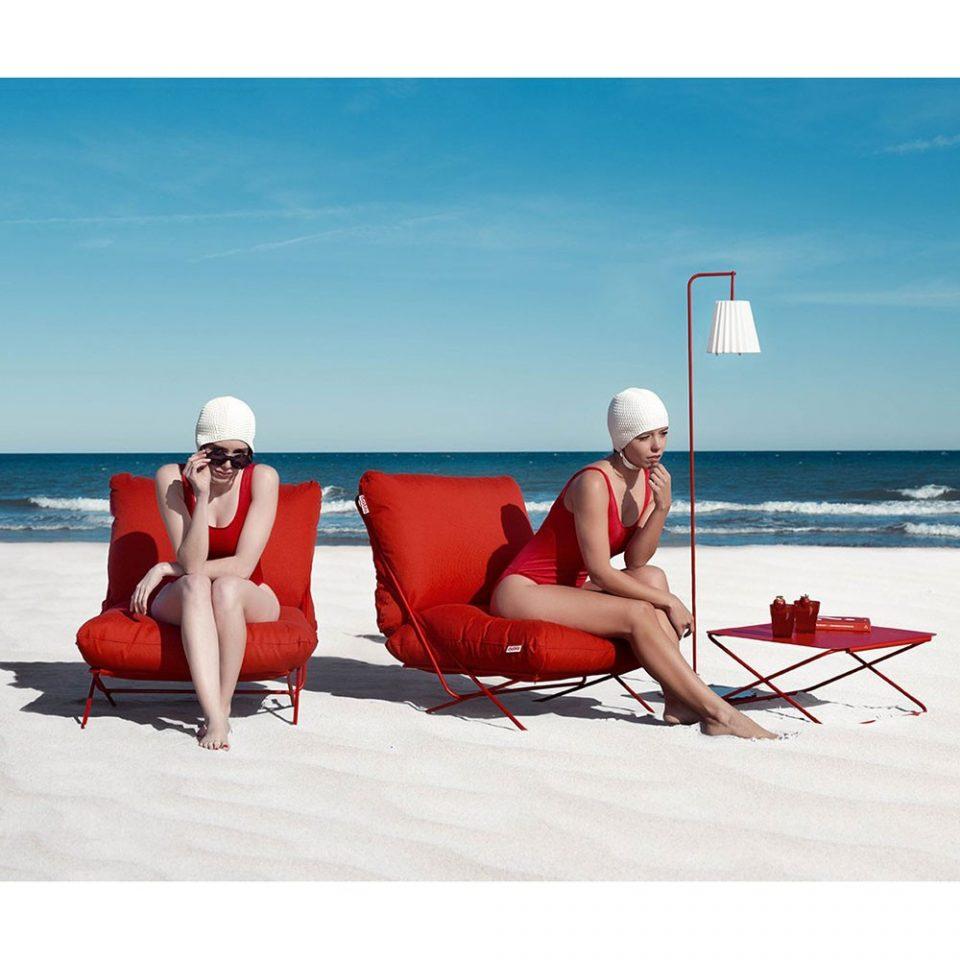 butaca de exterior para playa