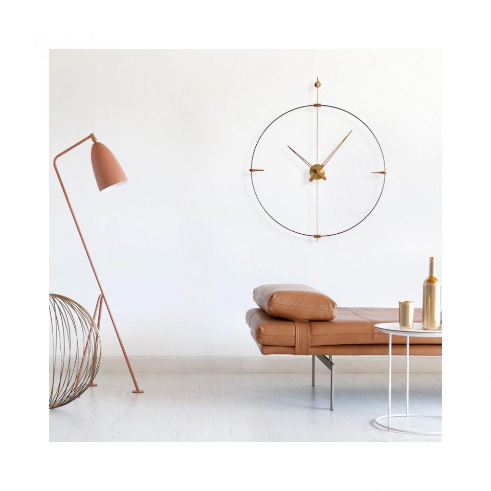 Reloj pared mini Bilbao G. Nomon