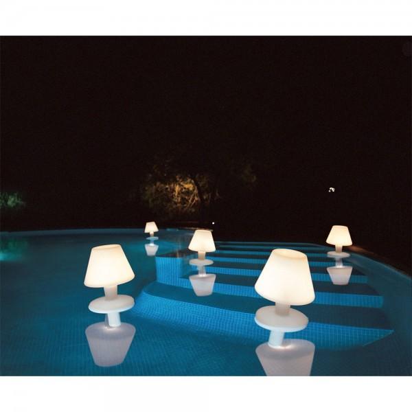 lámpara acuática