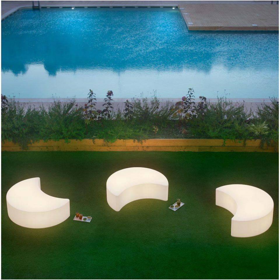 lamparas para zona de piscina
