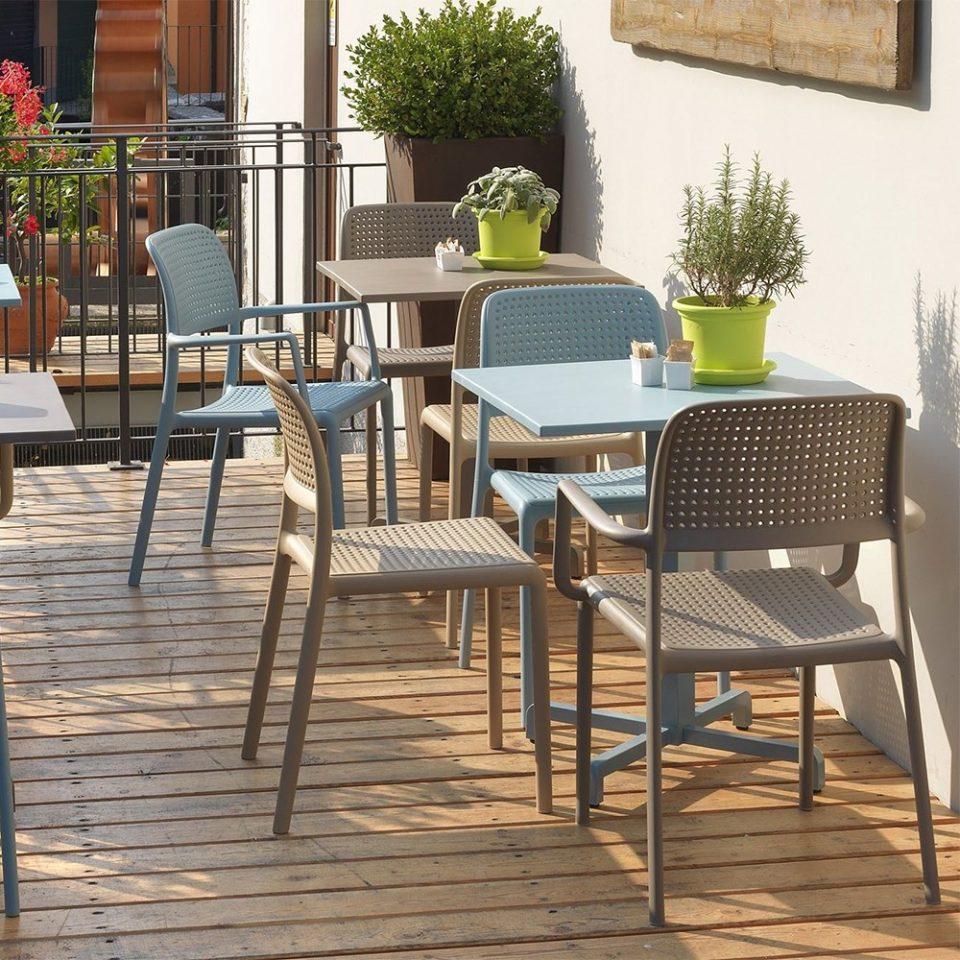 sillas para terrazas y exteriores