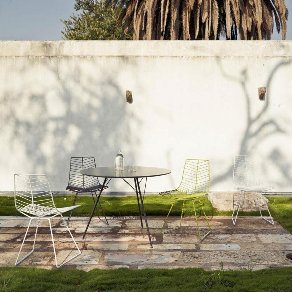 sillas de exterior para restaurantes