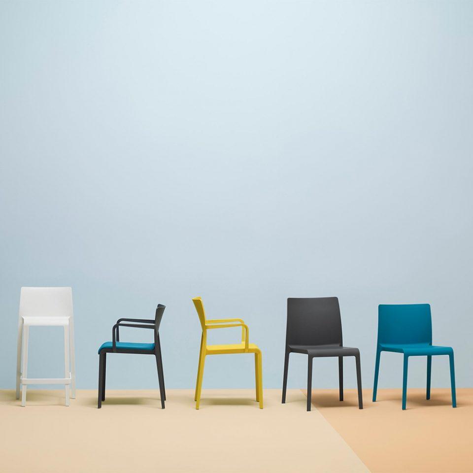 sillas para restaurantes en exterior