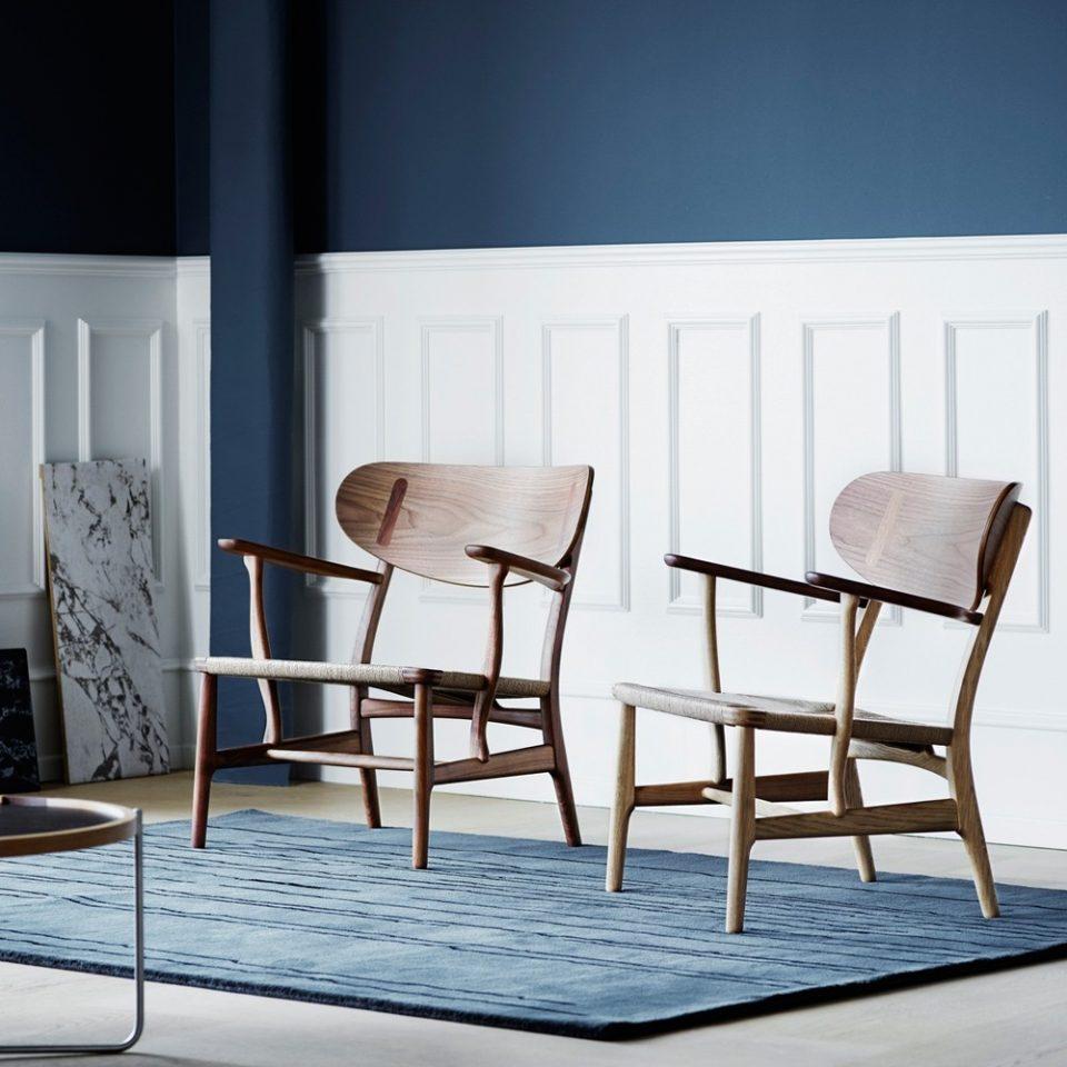 Sillón CH22 Lounge Chair. Carl Hansen and Son