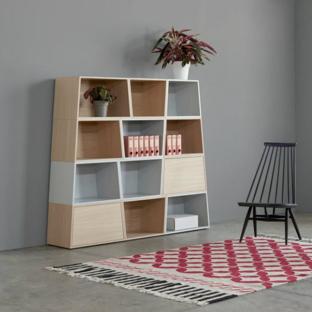 Librería modular Matrioska. Arlex