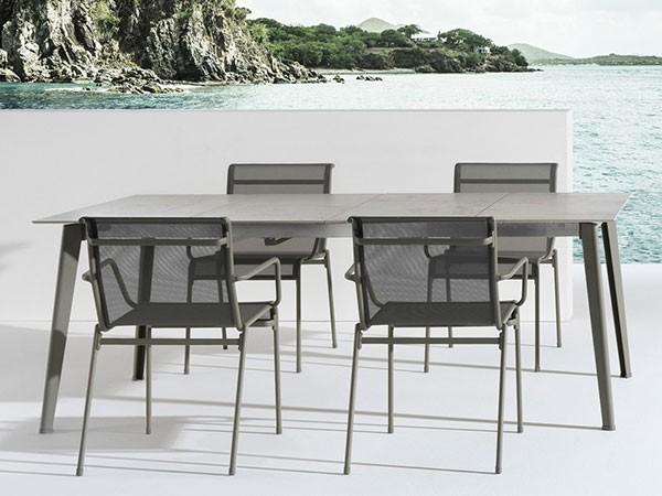 mesa porcelánica extensible