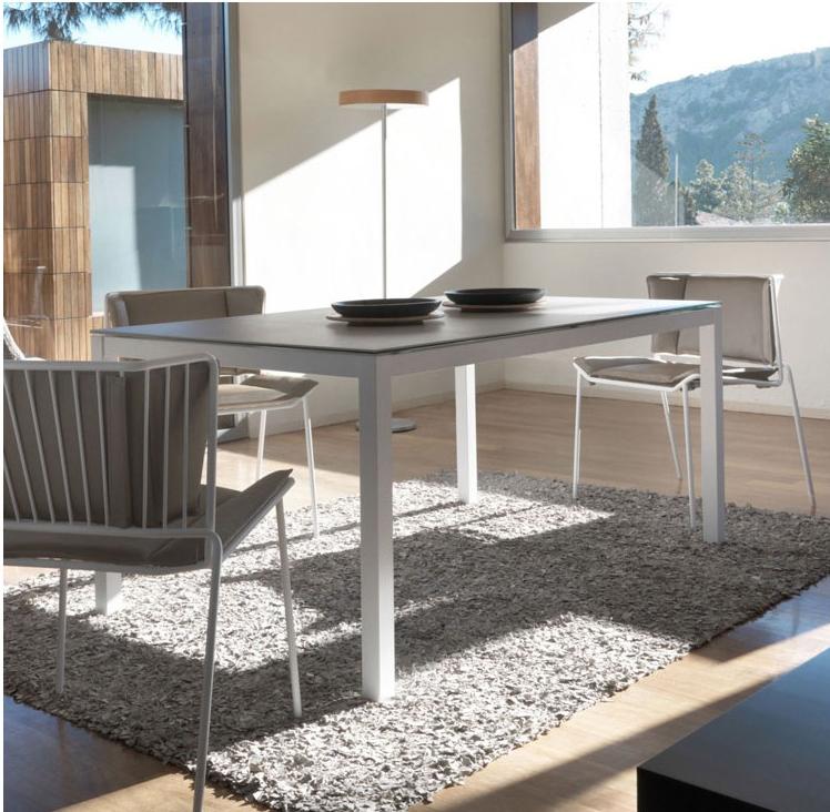 mesa extensible jardin e interior