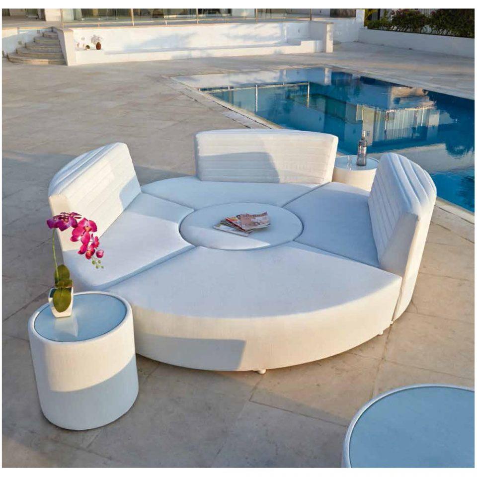 sofá modular de exterior