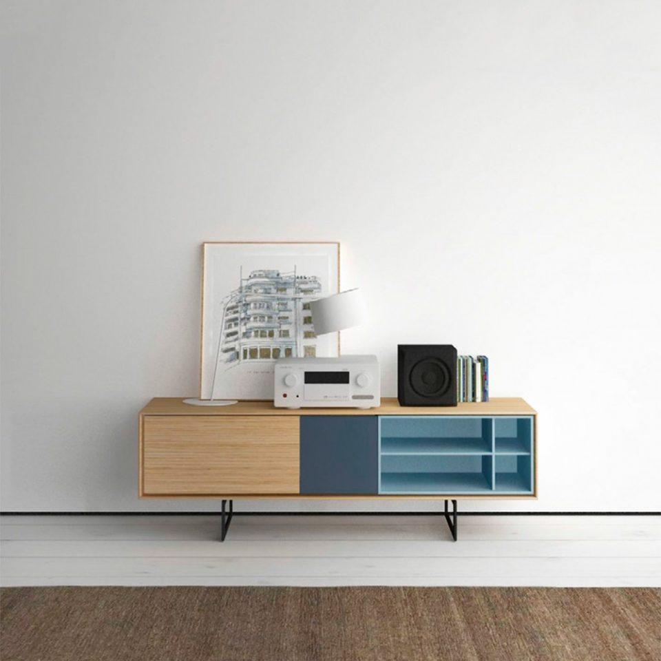 mueble tv para apartamentos pequeños