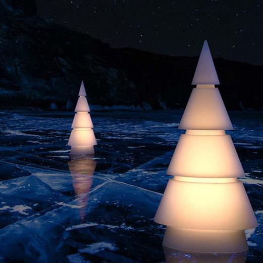 lámpara árbol de navidad
