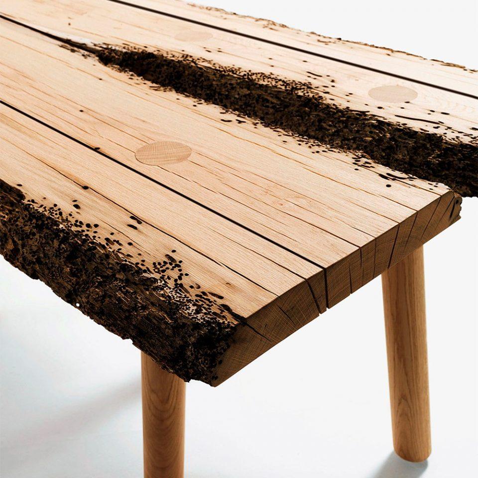mesas de madera de lujo