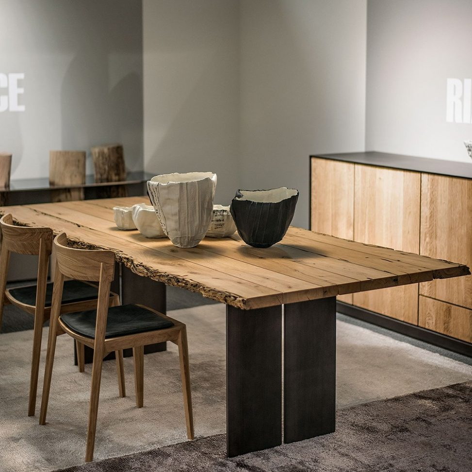 mesas de madera de lujo para comedor