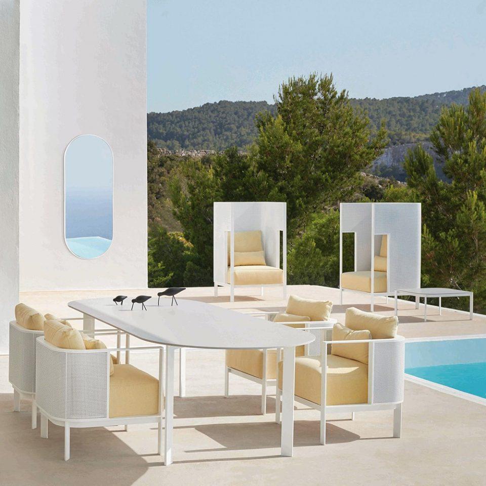 muebles para terrazas exteriores de invierno