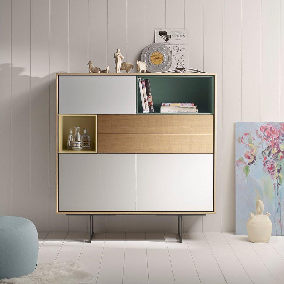mueble estilo años 70