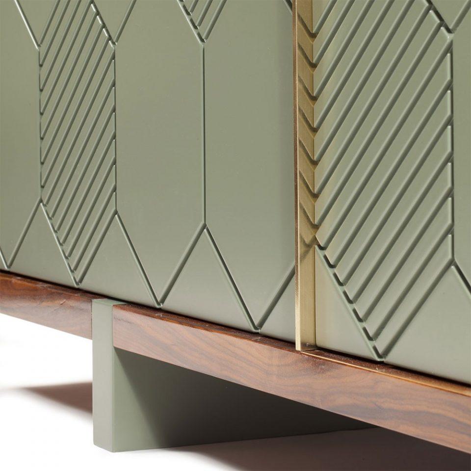 muebles geometricos tipicos de los 70