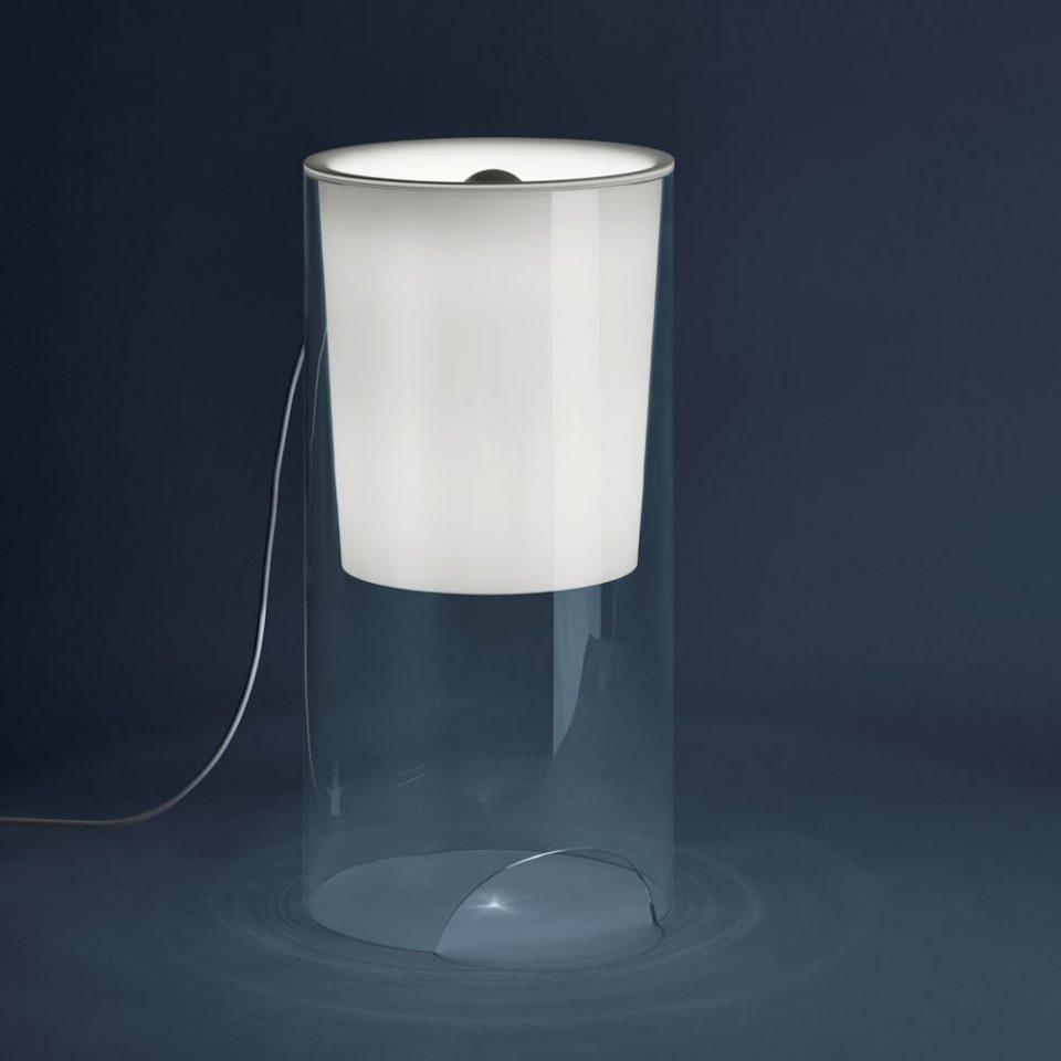 Lámpara de sobremesa de luz difusa de Achille Castiglioni