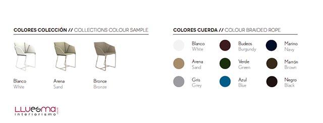 Tienda online muebles exterior colección Textile de Gancia Blasco