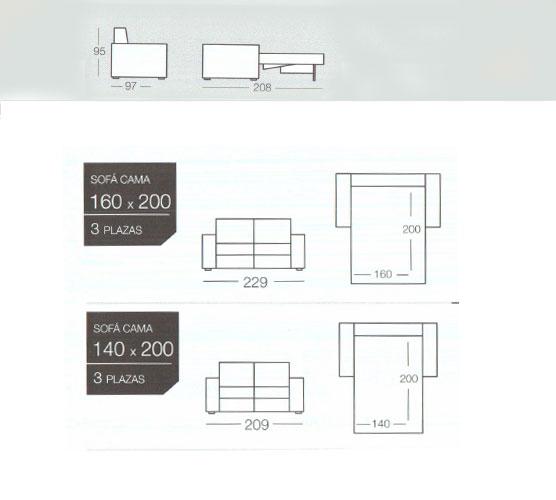 Coleccion de sofas cama modernos de la marca dado para comprar online. Tienda sofas cama