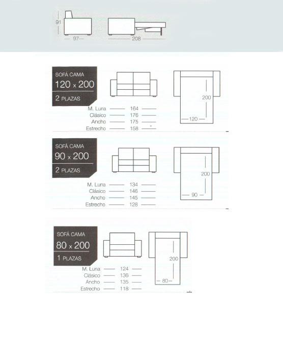 Catalogo sofas cama de calidad y alta gama goher