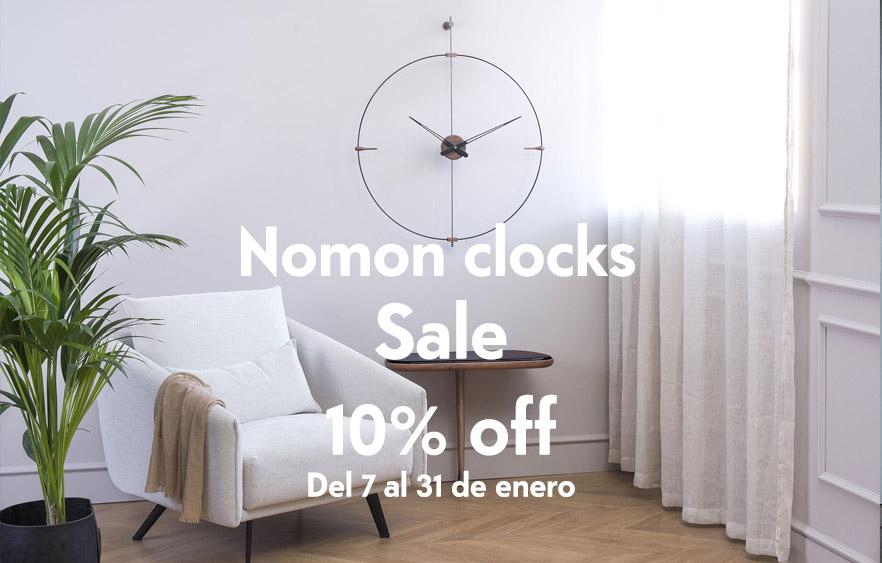 Reloj Pared Nomon