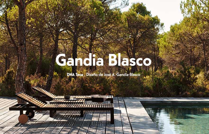 Mobiliario de Exterior de Gandia Blasco