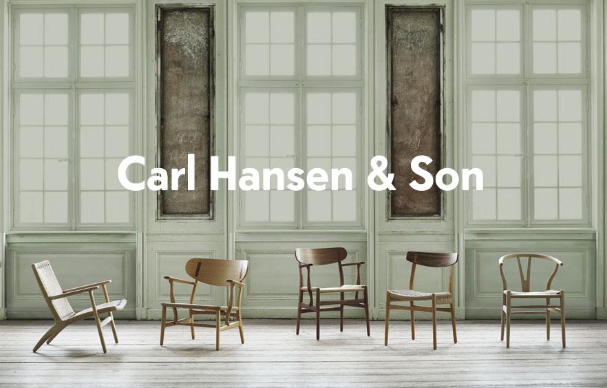 Carl hansen muebles de diseño Nórdico