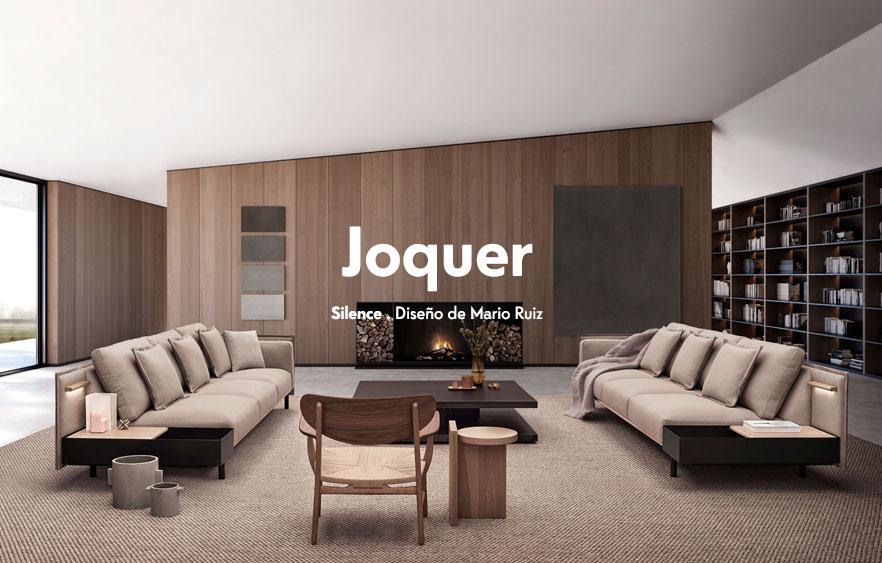 Sofás de diseño Joquer