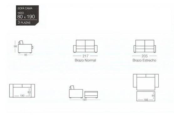 catalogo sofas cama nido para comprar online en oferta sofas cama