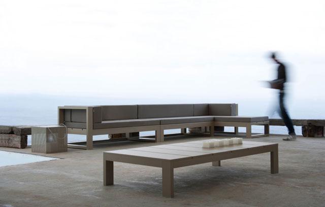 Muebles de jard n o terraza modernos lluesma interiorismo - Muebles para terraza exterior ...