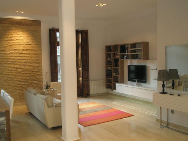 Proyecto sal n comedor moncada tienda de muebles modernos - Plafones para cocinas ...