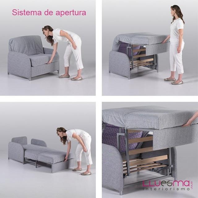 Consejos para elegir un buen sof cama lluesma interiorismo - Sofa cama desplegable ...