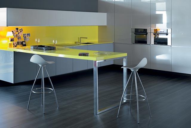 La reforma de mi cocina office con stua - Taburetes para barra de cocina ...