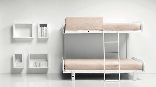Literas batientes modernas camas abatibles - Camas literas modernas ...