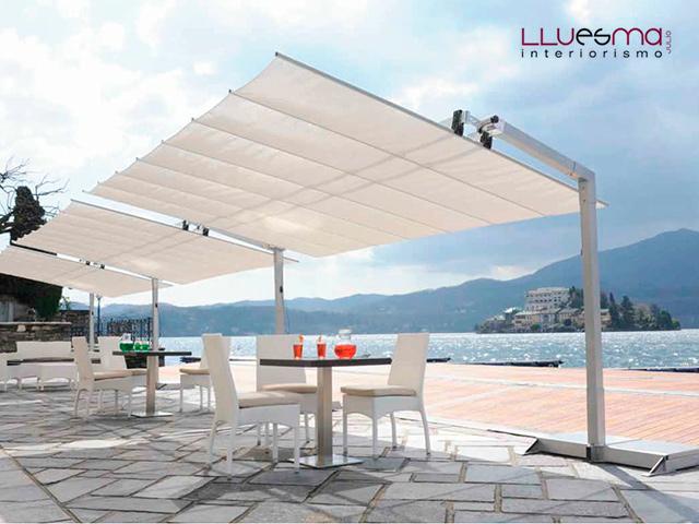 Sombrillas o parasoles de exterior cual prefieres - Sombrillas para terrazas ...