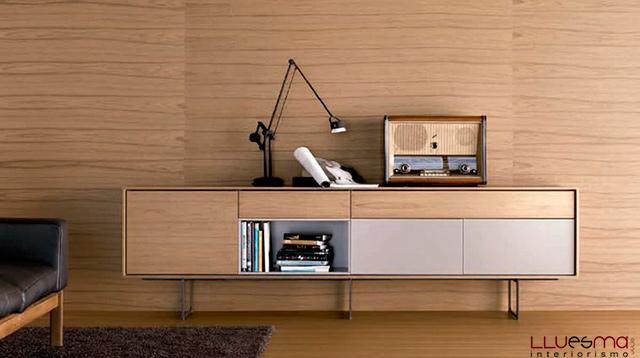 Aparadores modernos muebles de elementos y estantes - Mueble para tocadiscos ikea ...