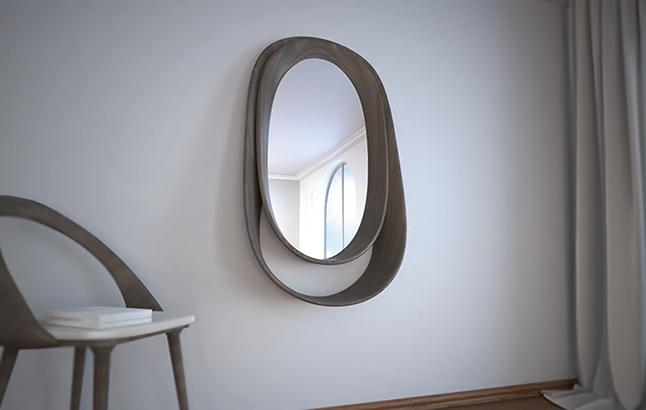 Espejo Double Loop Porada