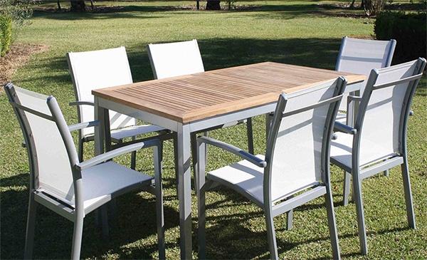 Muebles de jard n para la primavera verano 2015 blog for Juego de jardin fundicion aluminio