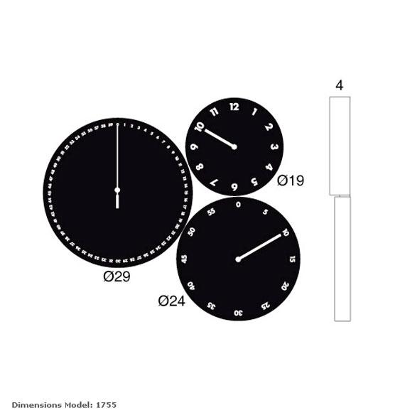 reloj moderno de pared hms para decorar nuestro salon o reloj juvenil para habitaciones modernas