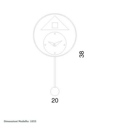 Tienda online de relojes de cuco de la marca progetti. Reloj progetti de cuco