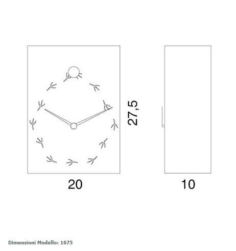 Progetti. Reloj juvenil de cuco. Catalogo relojes modernos cuco