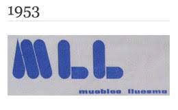 Logotipo Muebles Lluesma 1953